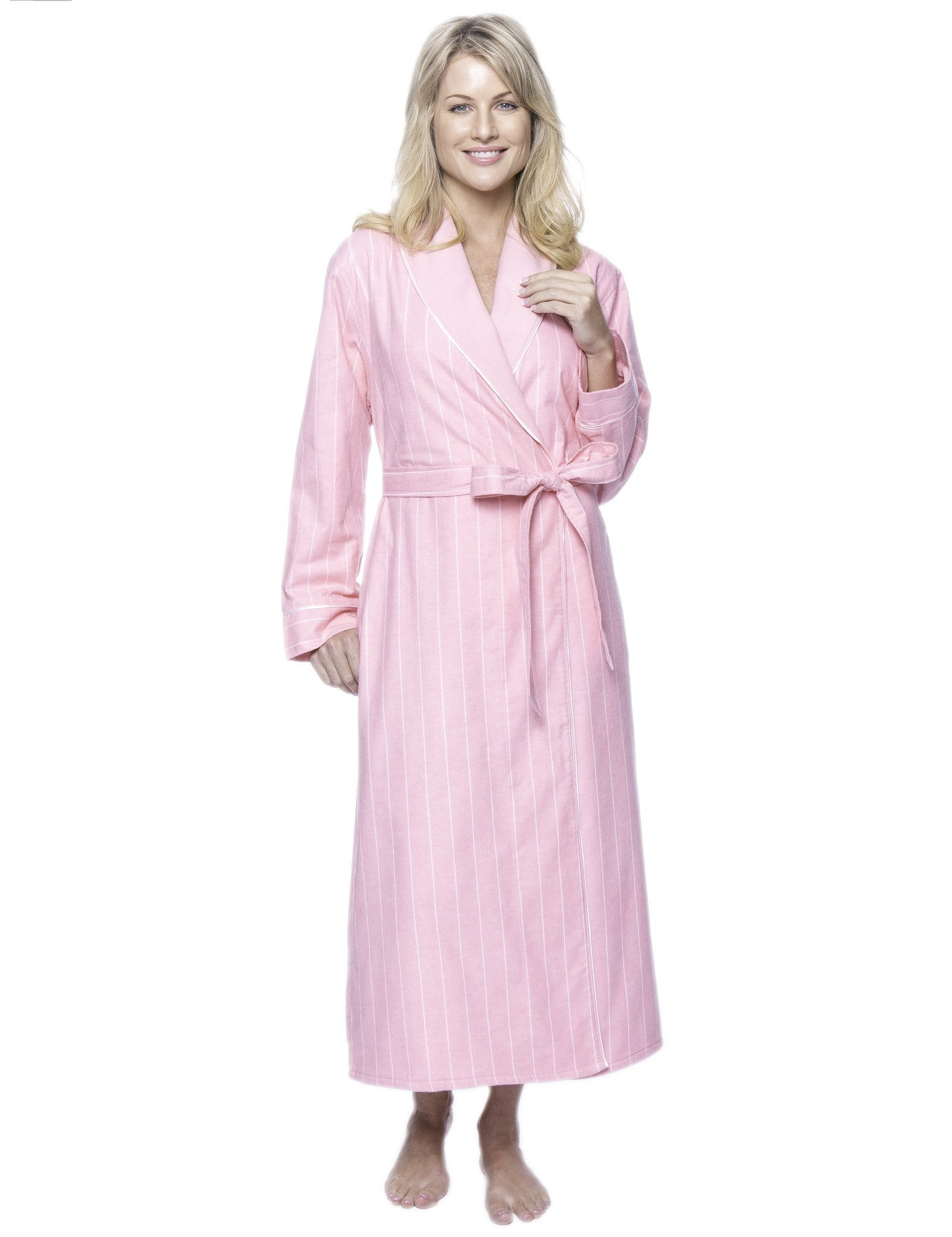 Women\'s Premium Flannel Fleece Lined Robe – Noble Mount