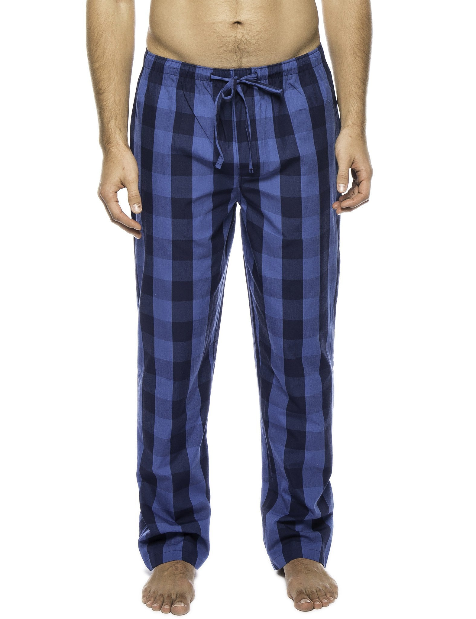 Men's 100% Woven Cotton Lounge Pants