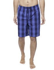 Men's 100% Woven Cotton Lounge Shorts