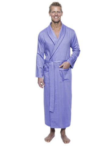 Men's 100% Woven Cotton Robe