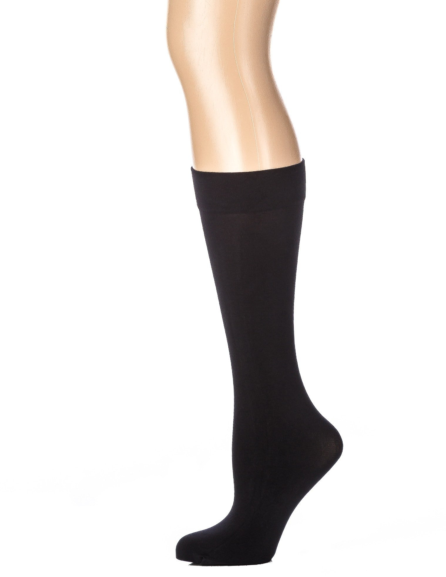 Women's Microfiber Anti-Pilling Knee-Hi Trouser Socks