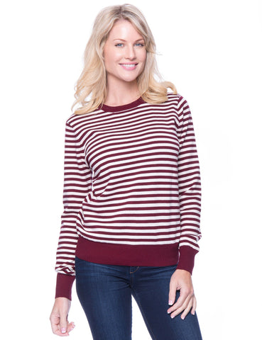Box-Packaged Tocco Reale Women's Premium Cotton Crew Neck Sweater