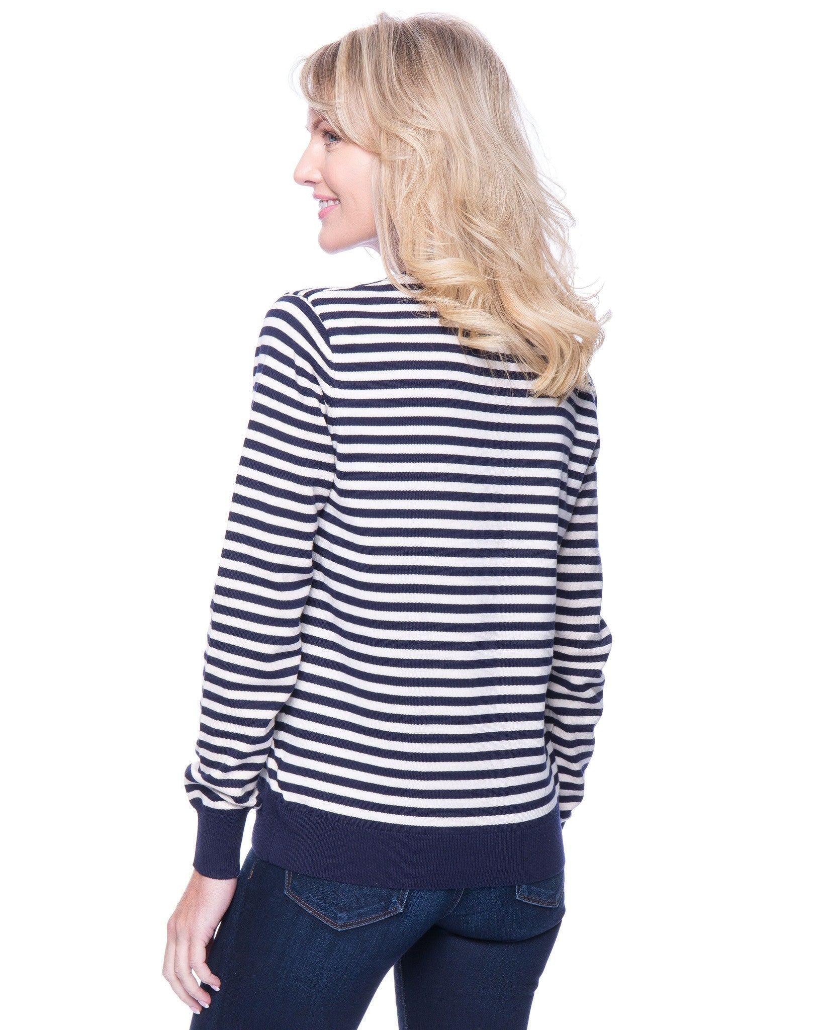Stripes Navy/Ivory