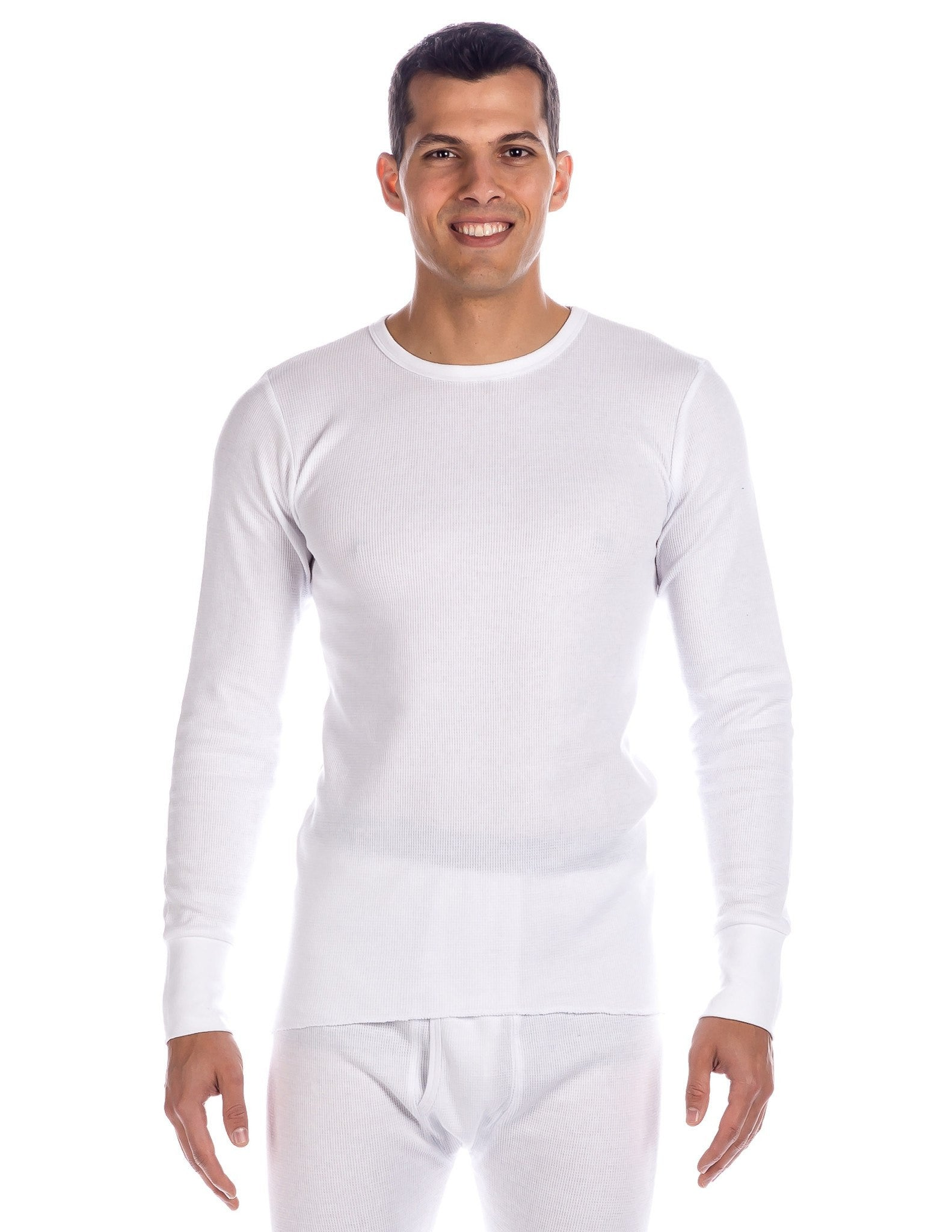 Men's Extreme Cold Waffle Knit Thermal Crew Top