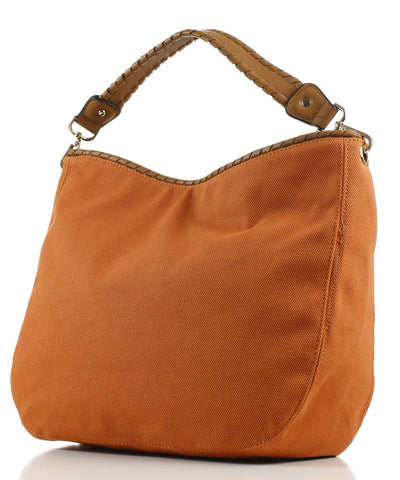 Noble Mount 'Eternity' Canvas Hobo/Handbag