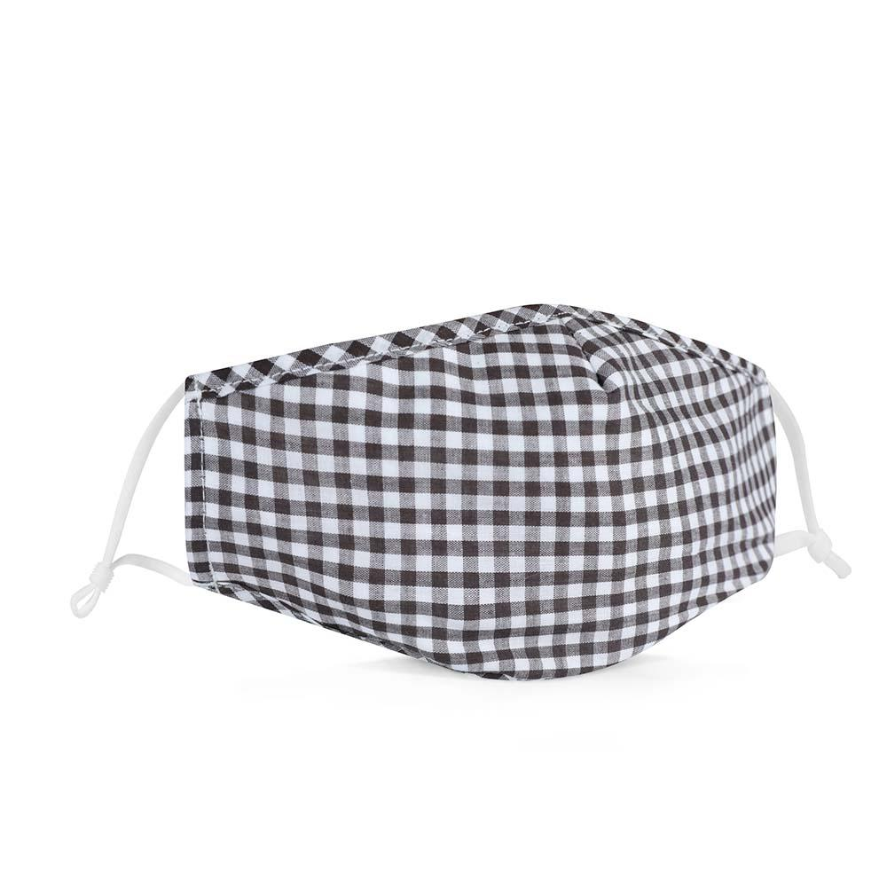Gingham Black/White