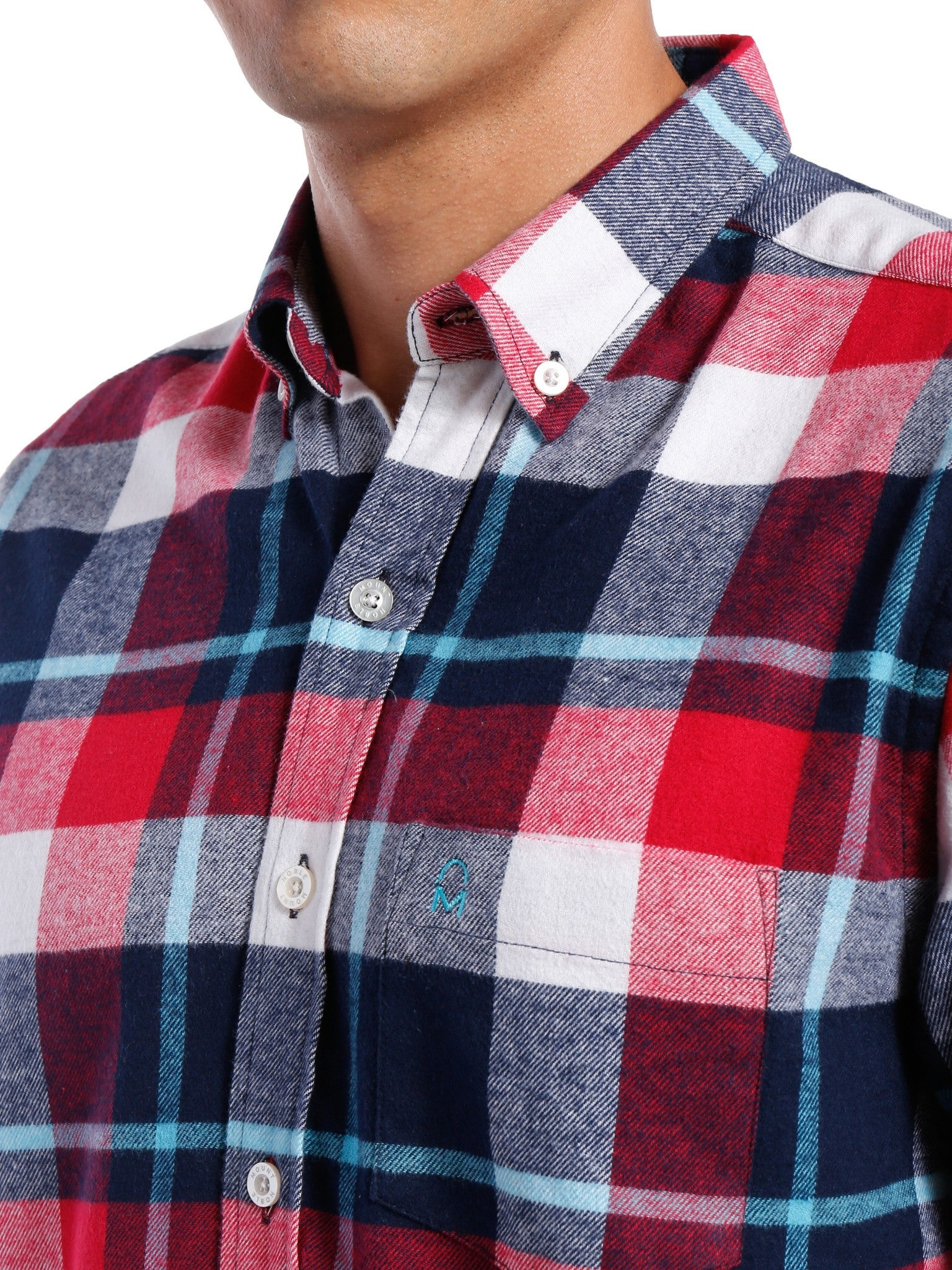 Red-White-Blue Plaid