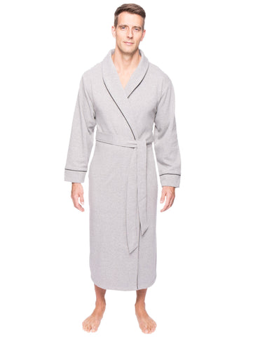 Men's Fleece Lined French Terry Robe