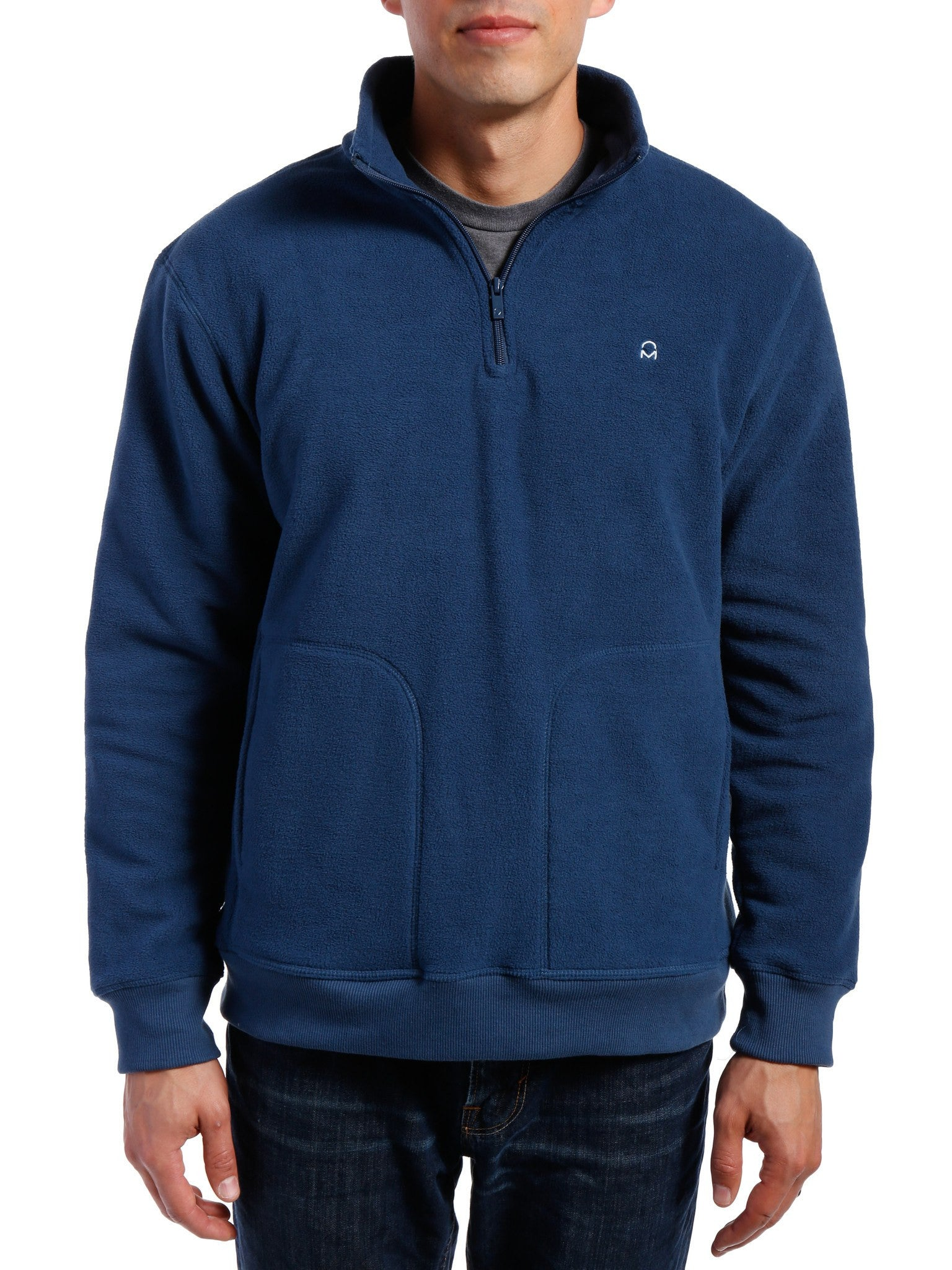 Men's Soft Fleece Half-Zip Pullover