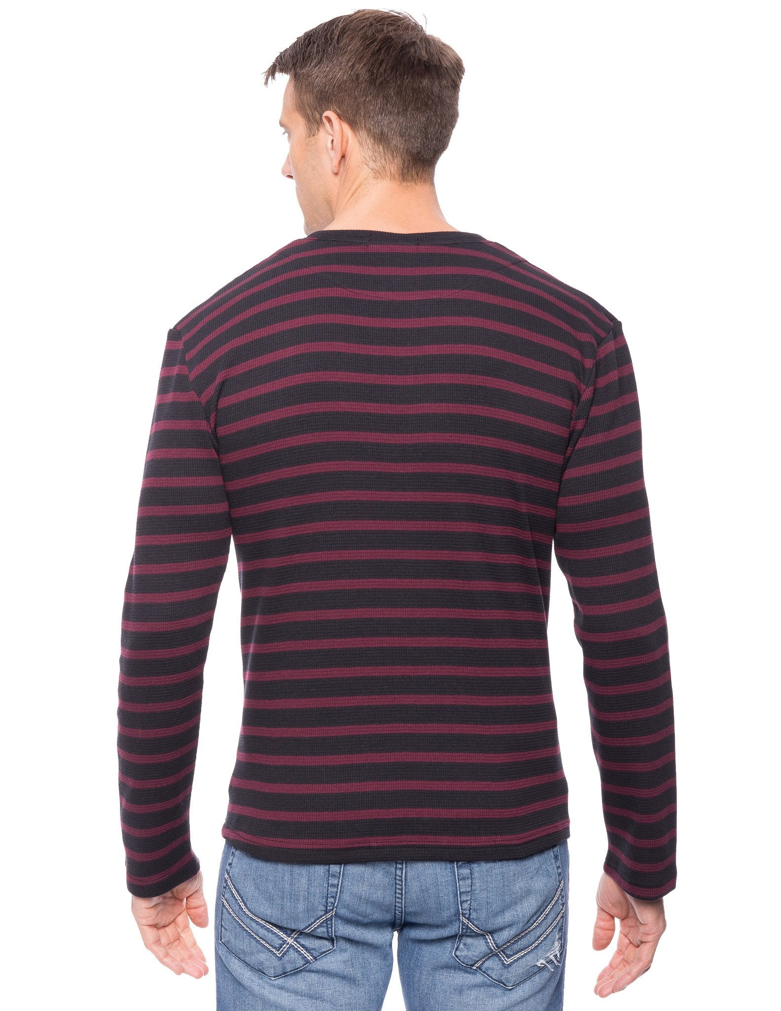 Stripes Black/Fig