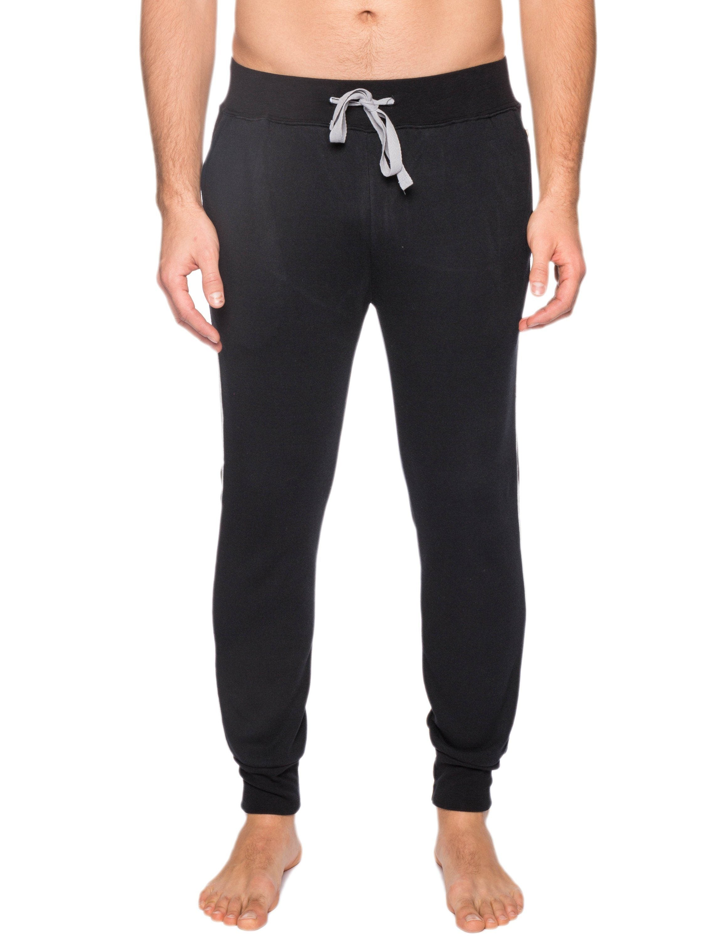 Men's Jersey Knit French Terry Jogger Lounge Pant