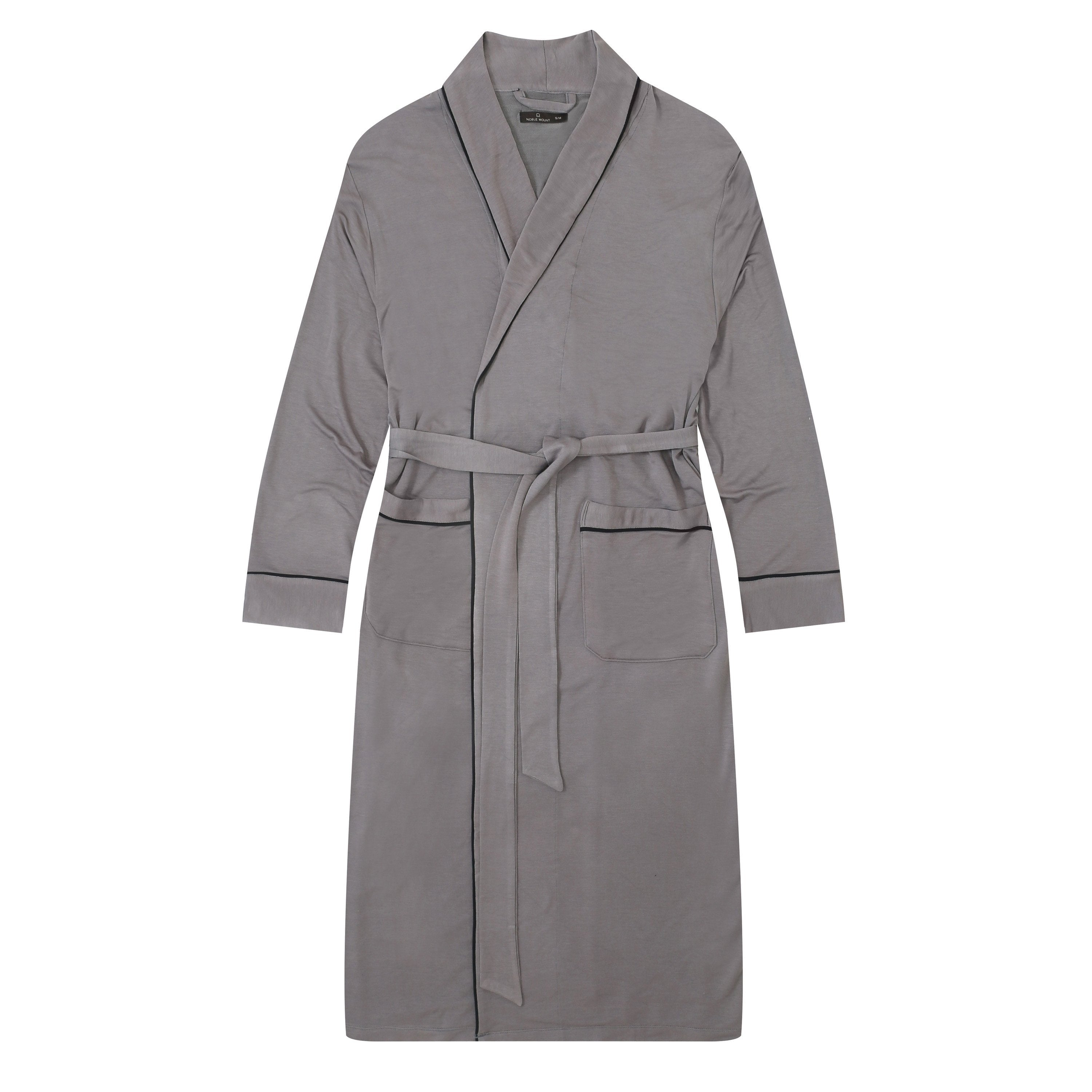 Men's Jersey Knit French Terry Robe
