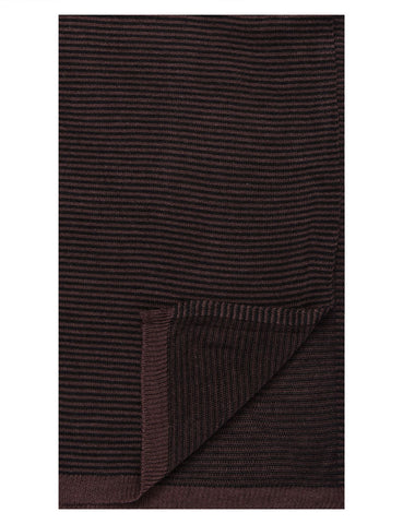 Men's Uptown Premium Knit Striped Scarf