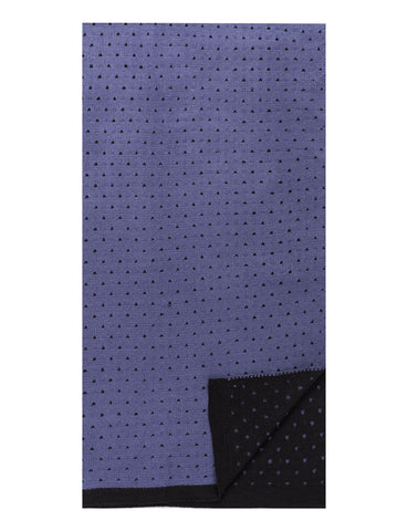 Men's Uptown Premium Knit Dot Pattern Scarf