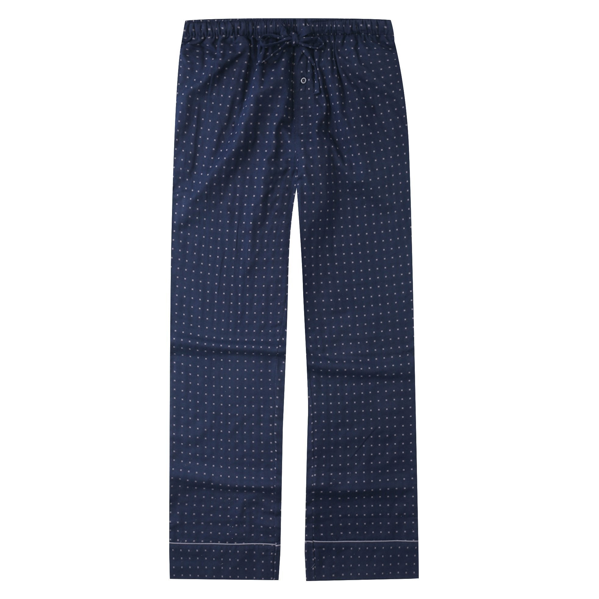 Mens Cotton Woven Double Layer Soft Lounge Pant