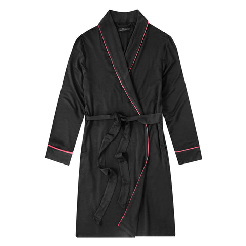 Women's Jersey Knit French Terry Short Robe