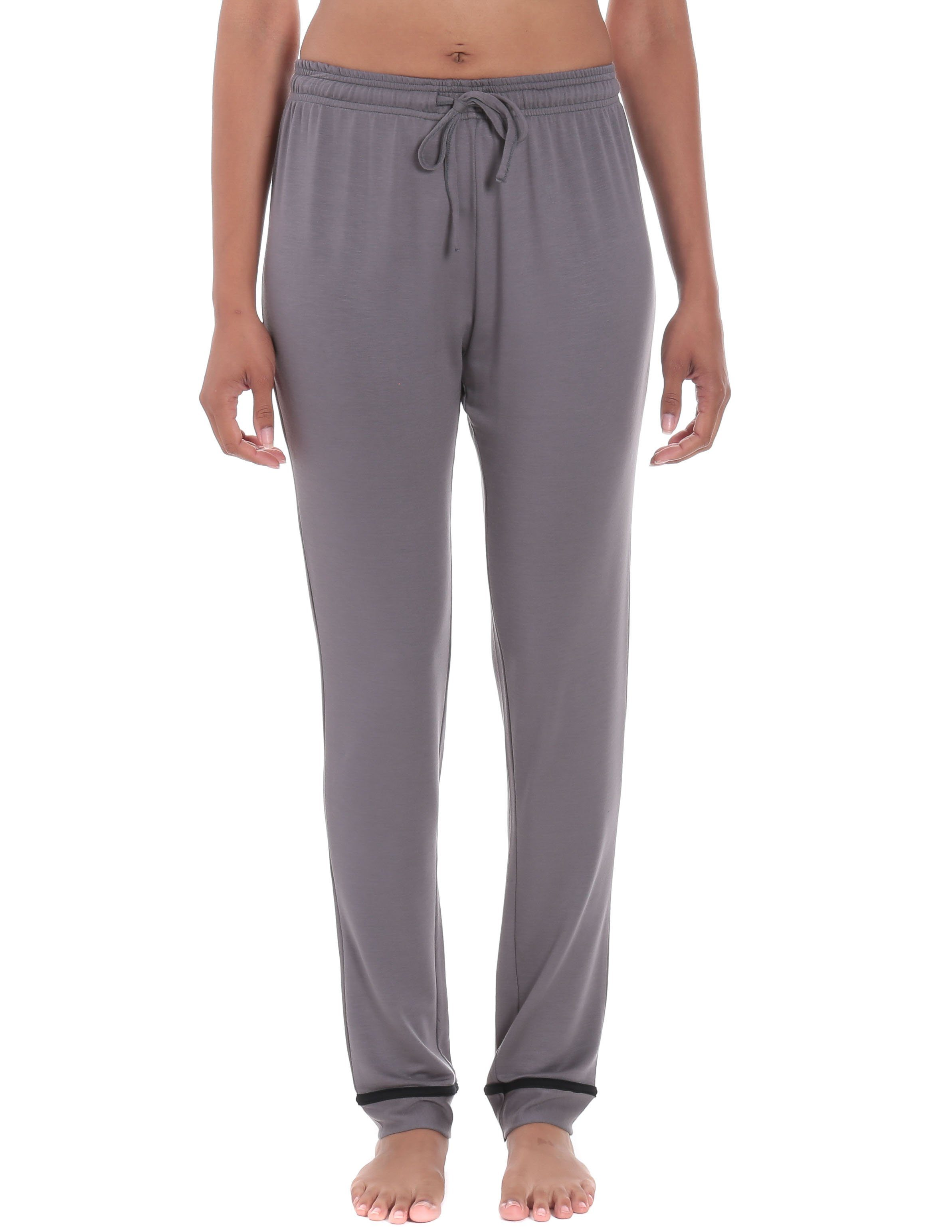 Women's Jersey Knit French Terry Tapered Lounge Pant