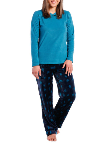 Womens Lush Butterfleece Lounge Set