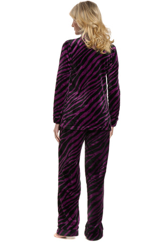 Womens Lush Butterfleece Pajama Set