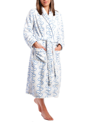Women's Lush Butterfleece Spa/Bath Robe
