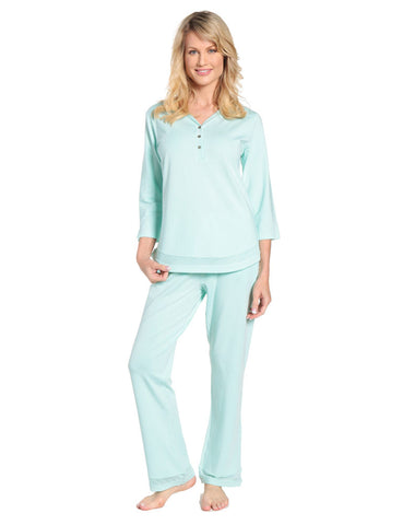 Womens Eco-PJ Bamboo Lounge Set