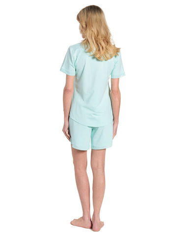Womens Eco-PJ Bamboo Short Pajama Set
