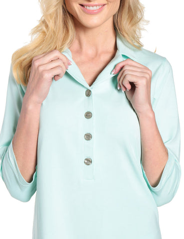 Womens Eco-PJ Bamboo Sleep Shirt