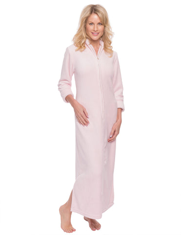Women's Premium Coral Fleece Plush Caftan