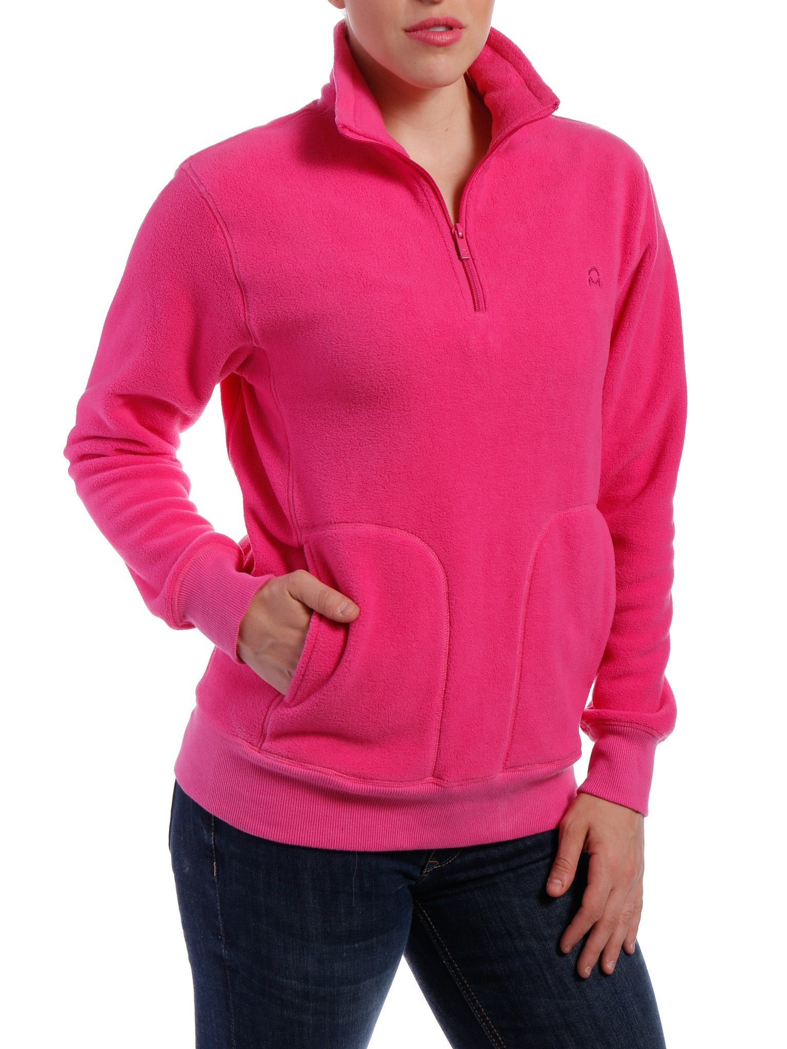 Women's Soft Fleece Half-Zip Pullover