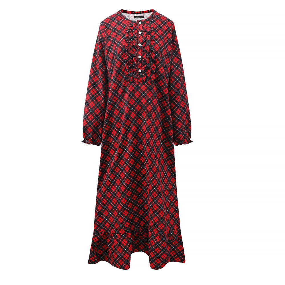 Women's Premium Flannel Long Gown