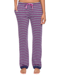 Women's Double Layer Knit Jersey Lounge Pants