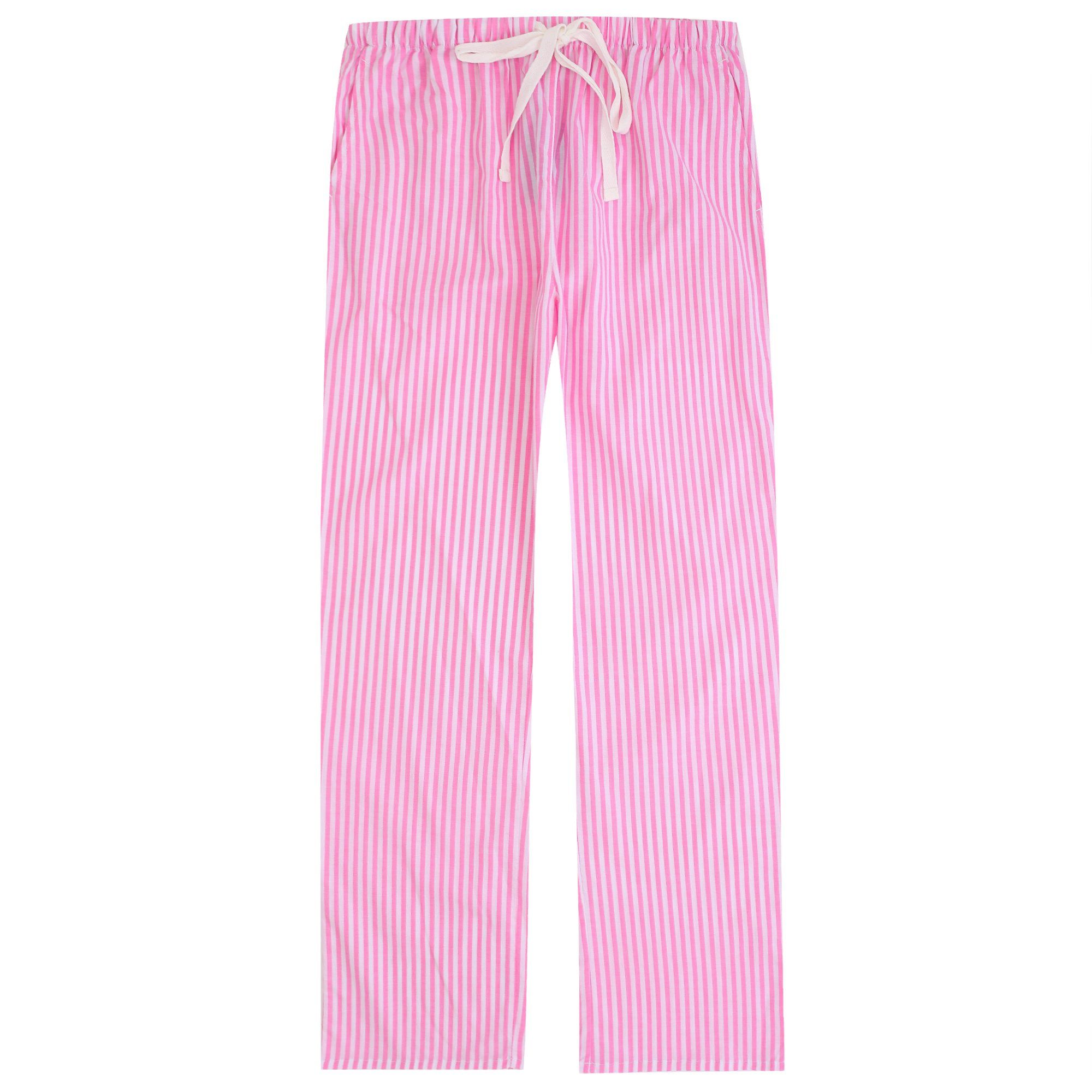 Pajama Pants for Women - 100% Cotton Lounge Pants Women PJ Pants