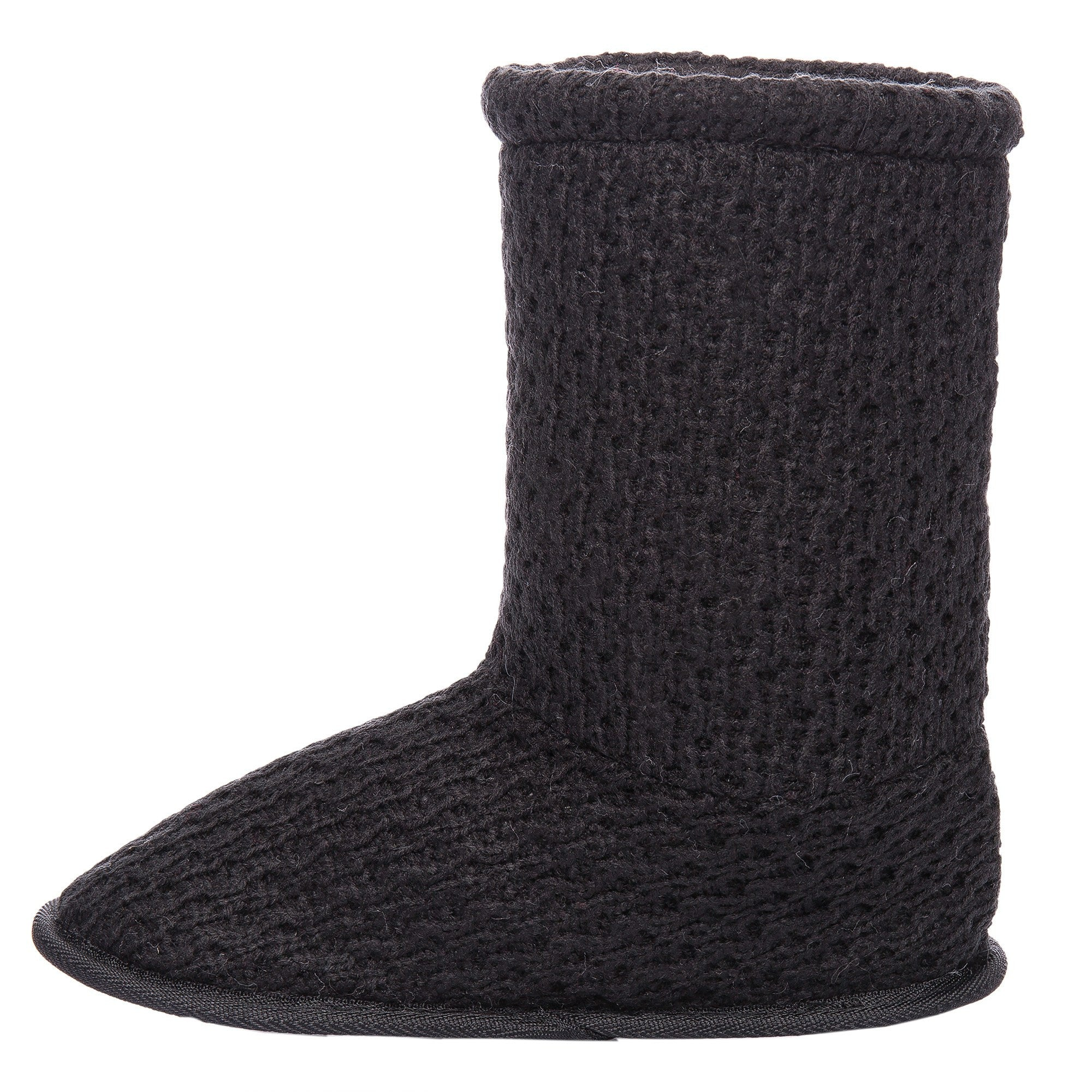 Women's Cozy Crochet Boot Slipper