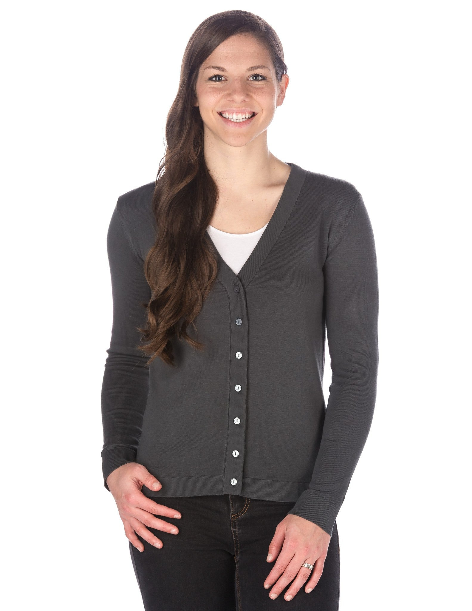 Women's 100% Cotton Cardigan Sweater