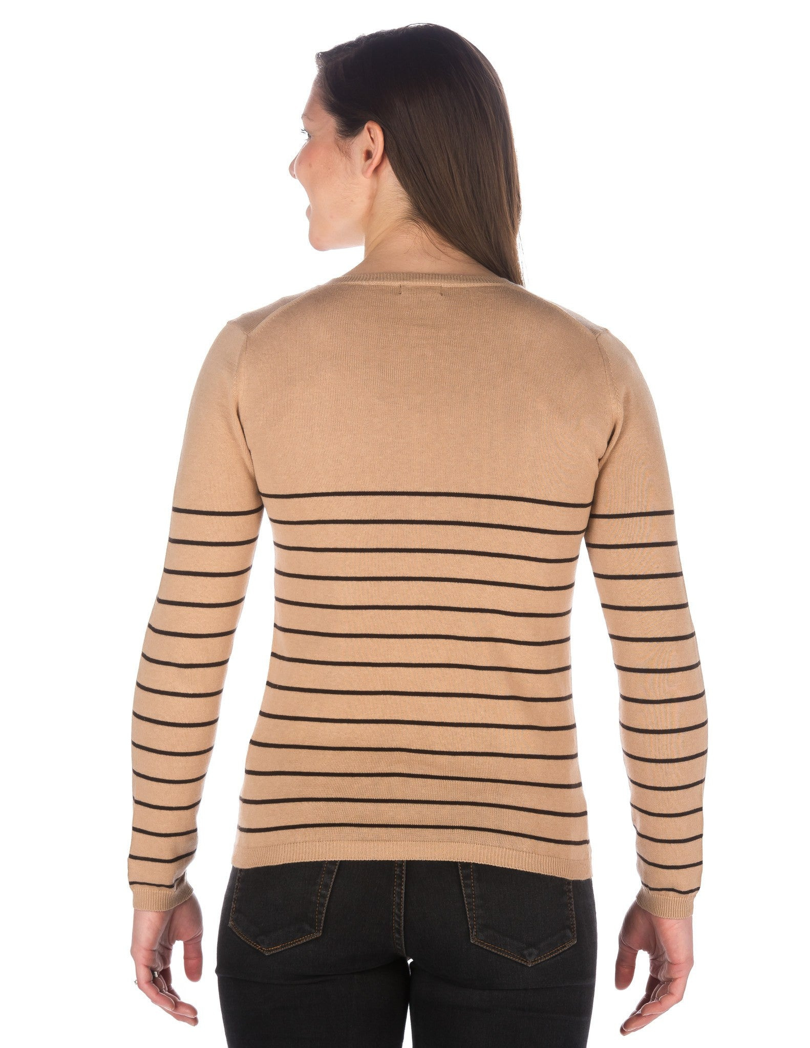 Stripes Beige-Coffee