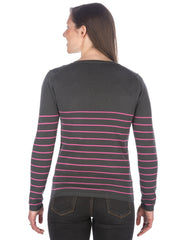 Stripes Gray-Pink