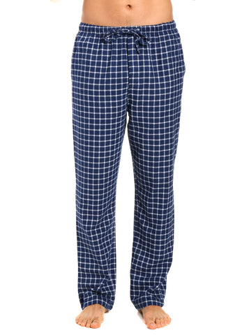 Men's 100% Cotton Flannel Lounge Pants