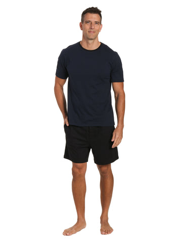 Mens Knit Short Lounge Set