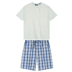Mens Premium Cotton Short Lounge Set