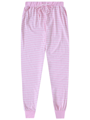 Women's Soft Knit Jersey Jogger Lounge Pants