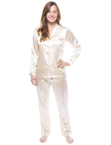 Women's Satin Pajama/Sleepwear Set
