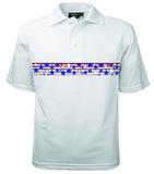 Patriotic Chest Stars Polo
