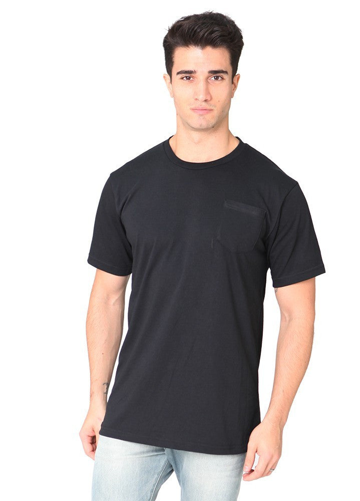 Royal Apparel Unisex 50/50 Blend Pocket Tee - Graphic Comfort  - 3