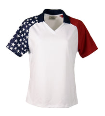 Ladies' Patriotic Polo - AKWA