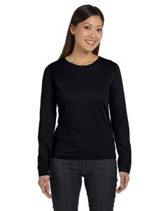LAT Ladies' Combed Ringspun Jersey Long-Sleeve T-Shirt - Graphic Comfort  - 1