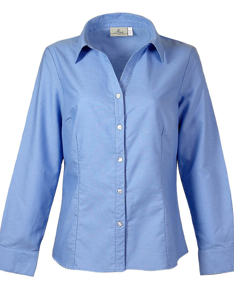 AKWA Ladies' Button Down Shirt