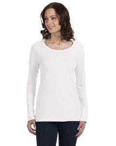 Anvil Ladies' Ringspun Sheer Long-Sleeve Featherweight T-Shirt