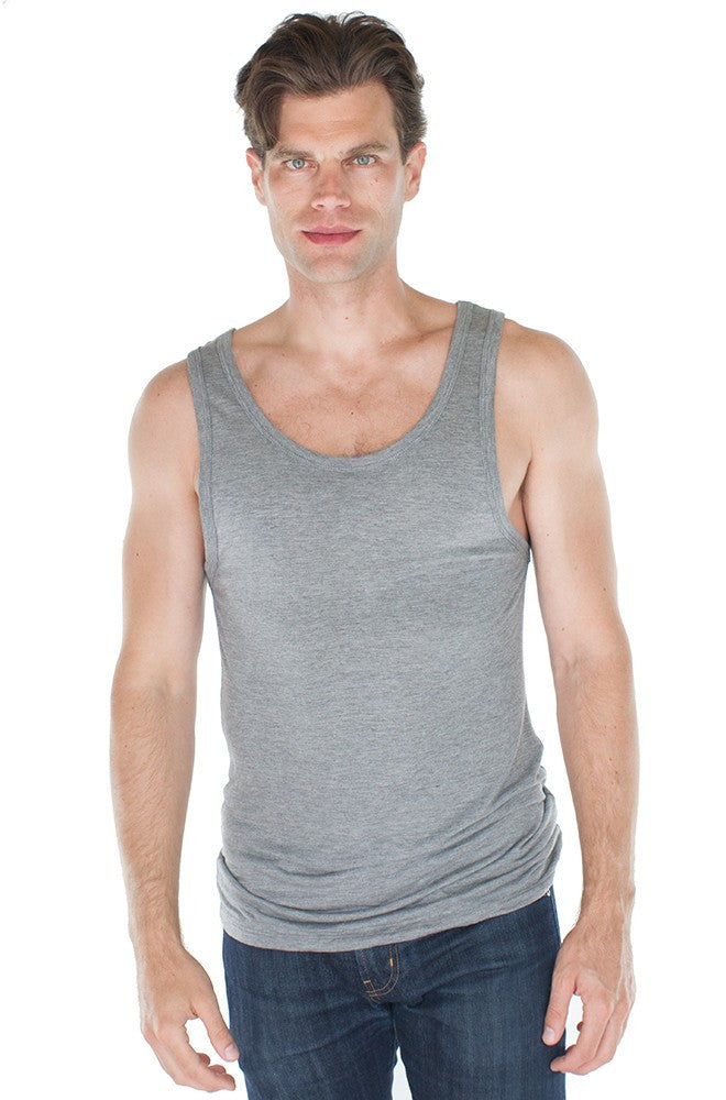 Royal Apparel Unisex Bamboo Organic Tank Top - Graphic Comfort  - 3