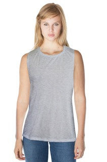 Royal Apparel Women's Bamboo Organic Muscle Shirt - Graphic Comfort  - 1