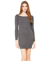Ladies' Lightweight Sweater Dress - Bella + Canvas - Graphic Comfort  - 1